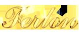 Logotipo Ferlon, Oro laminado de 18k